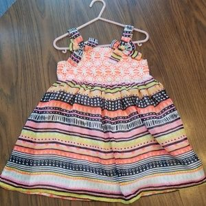 Multi-color girls dress 3T